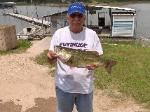 Black Bass caught by Thurman with Bass A Specialty Guise Service